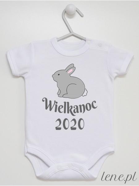 Zajączek Wielkanocny - body niemowlęce