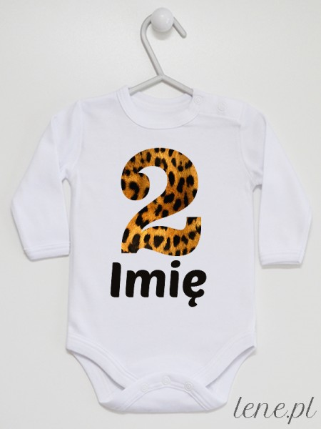 Panterka Dwójka Z Imieniem  - body niemowlęce