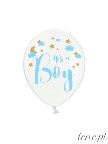 It's a Boy - balon lateksowy