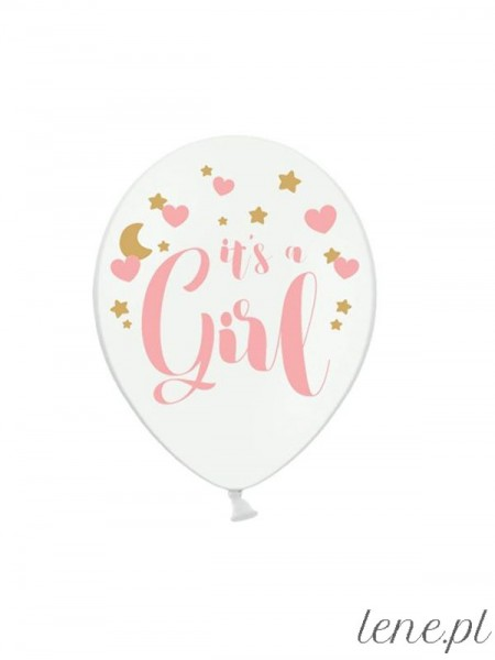 It's a Girl - balon lateksowy