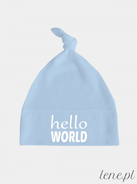 Hello World - czapeczka