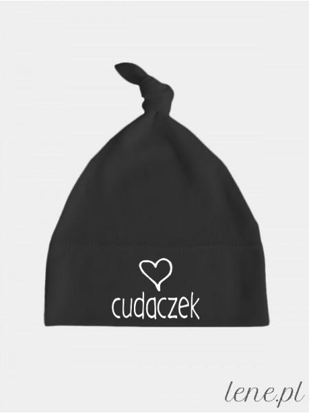 Cudaczek z Serduszkiem - czapeczka dla dzieci z napisem