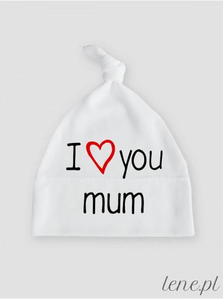 I Love You Mum - czapeczka