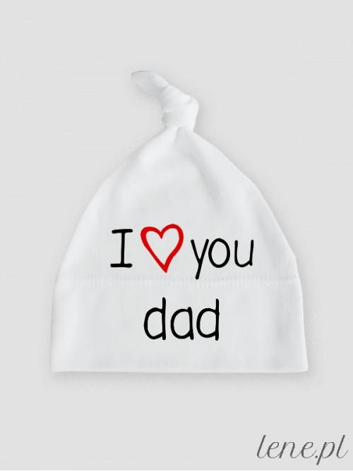 Czapeczka I Love You Dad