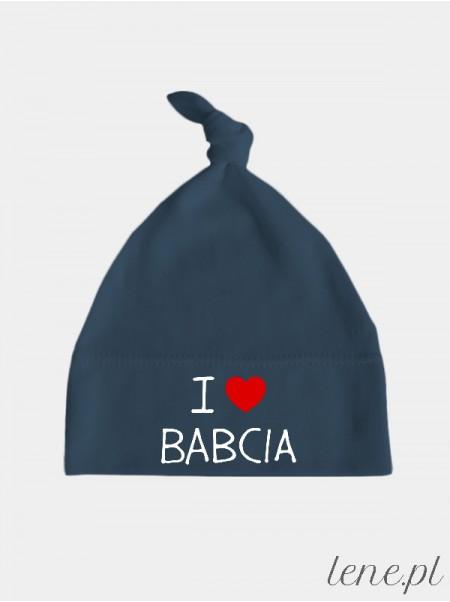 I Love Babcia - czapeczka