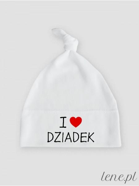 I Love Dziadek - czapeczka