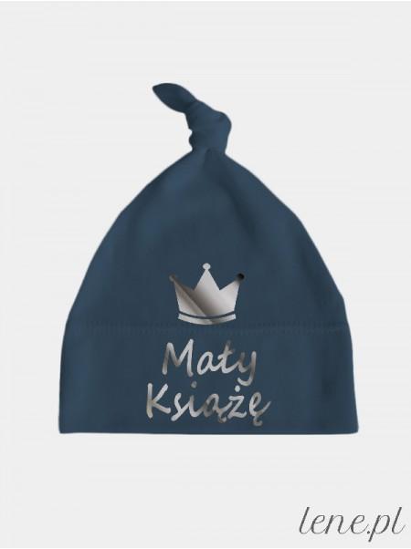 Mały Książę Nadruk Srebrny - czapeczka dla chłopczyka