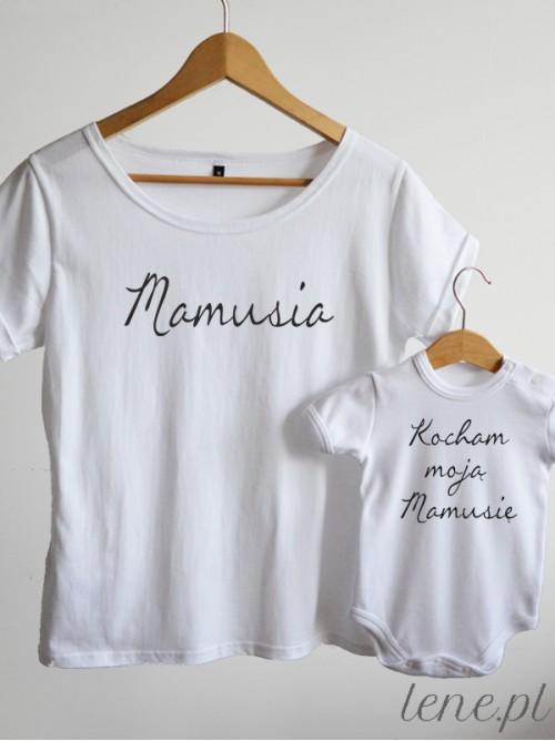 Komplet bluzka i body - Kocham Moją Mamusię