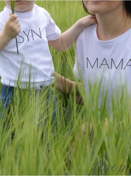 Mama i Syn - komplet bluzka i body
