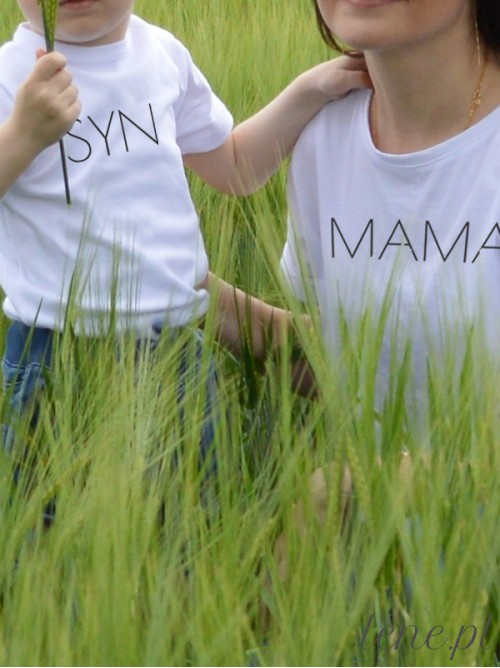 Komplet bluzka i body - Mama i Syn