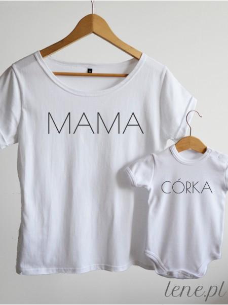 Mama i Córka 02 - komplet bluzka i body