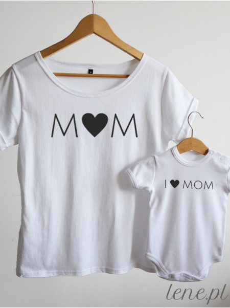 I Love Mom - komplet bluzka i body