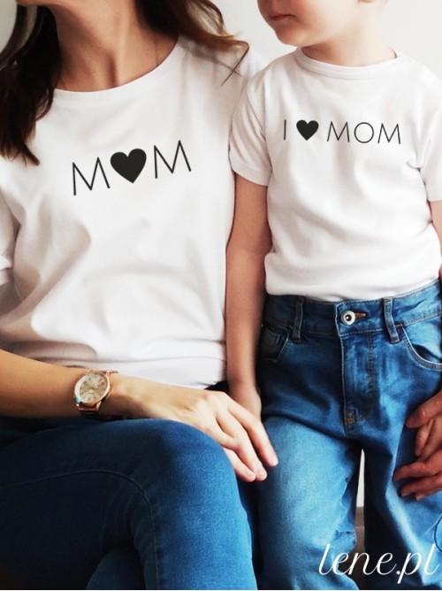 Komplet bluzka i body - I Love Mom