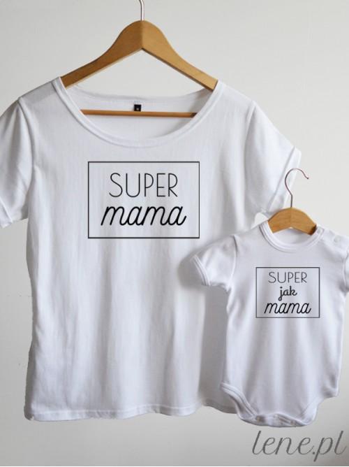 Komplet bluzka i body - Super Mama