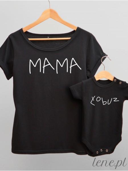 Mama Łobuza - komplet bluzka i body