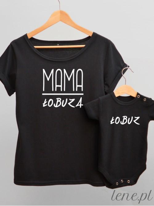Komplet bluzka i body - Mama Łobuza 02