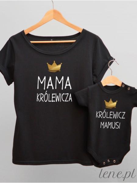 Mama Królewicza - komplet bluzka i body