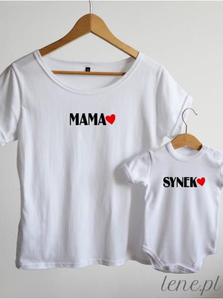 Mama i Synek 02  - komplet bluzka i body