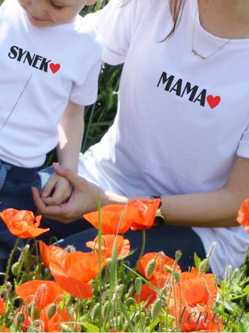 Komplet bluzka i body - Mama i Synek 02