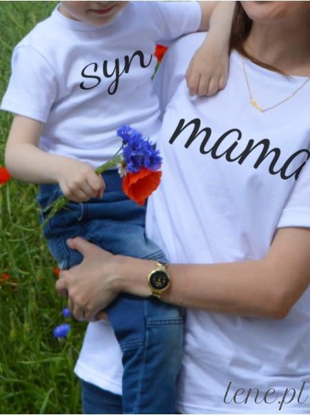 Dla Mamy i Syna 02 - komplet bluzka i body