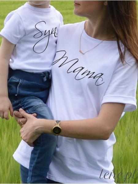 Mama i Synek 03  - komplet bluzka i body