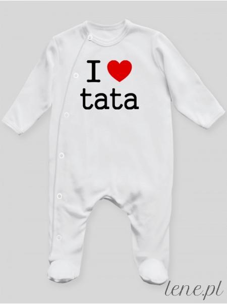 I Love Tata - pajac niemowlęcy