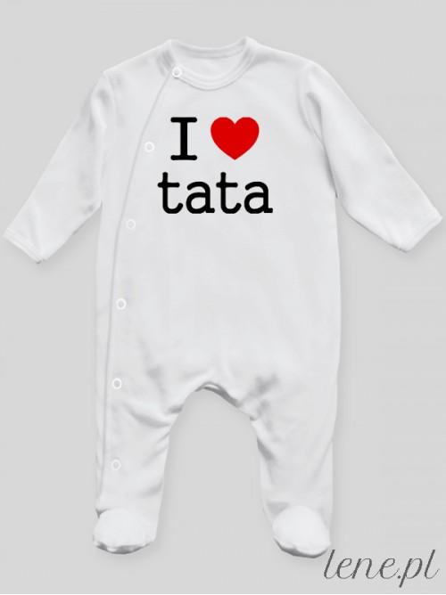 Pajac niemowlęcy I Love Tata