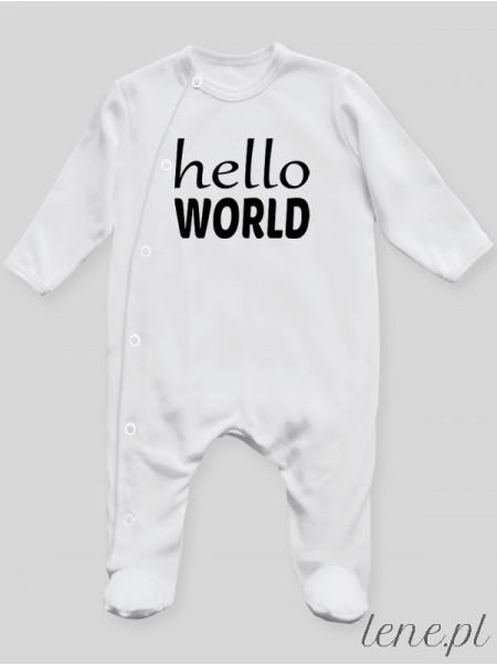 Hello World - pajac niemowlęcy