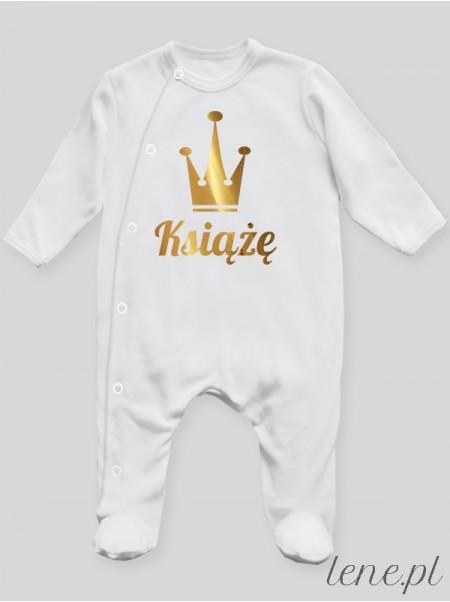 Książę 01 - pajac niemowlęcy