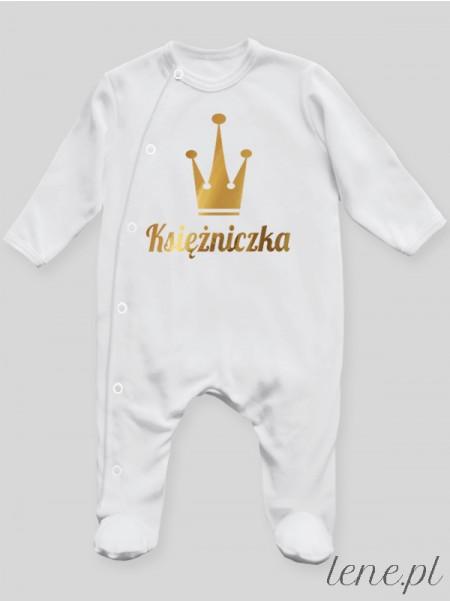 Księżniczka 01 - pajac niemowlęcy