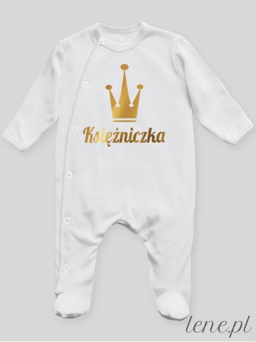 Pajac niemowlęcy Księżniczka 01