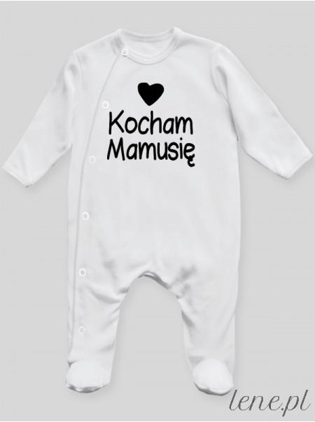 Kocham Mamusię 01 - pajac niemowlęcy