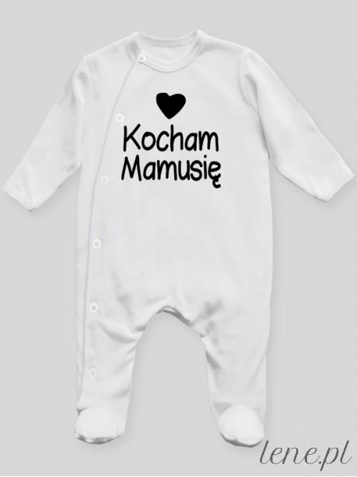 Pajac niemowlęcy Kocham Mamusię 01