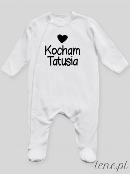 Kocham Tatusia 01 - pajac niemowlęcy