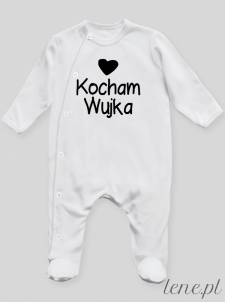 Kocham Wujka - pajac niemowlęcy