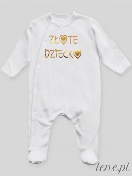 Złote Dziecko - pajac niemowlęcy