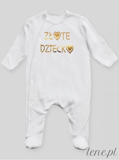 Pajac niemowlęcy Złote Dziecko