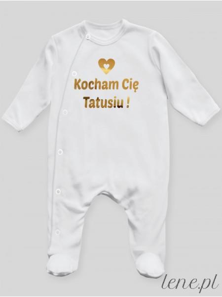 Kocham Cie Tatusiu 01 - pajac niemowlęcy