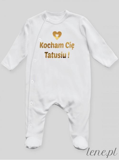 Pajac niemowlęcy Kocham Cie Tatusiu 01