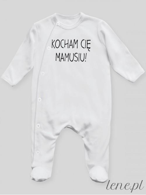 Pajac niemowlęcy Kocham Cię Mamusiu! 02