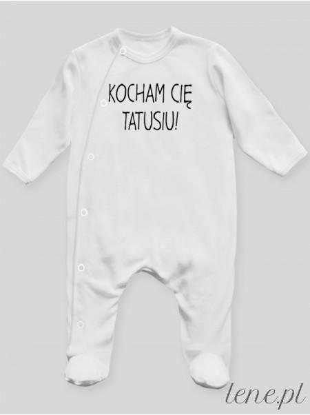 Kocham Cie Tatusiu 03 - pajac niemowlęcy