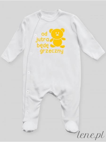 Od Jutra Będę Grzeczny 01 - pajac niemowlęcy