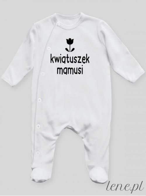 Pajac niemowlęcy Kwiatuszek Mamusi