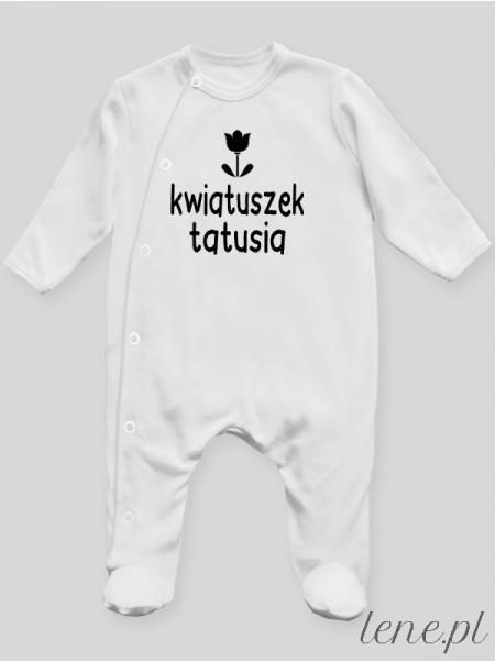 Kwiatuszek Tatusia - pajac niemowlęcy