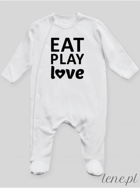 Eat Play Love - pajac niemowlęcy