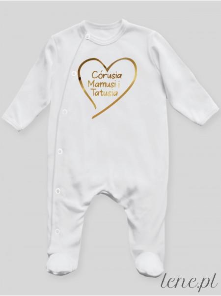 Córusia Mamusi I Tatusia - pajac niemowlęcy