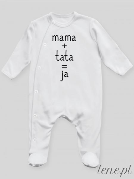 Mama Tata Ja - pajac niemowlęcy