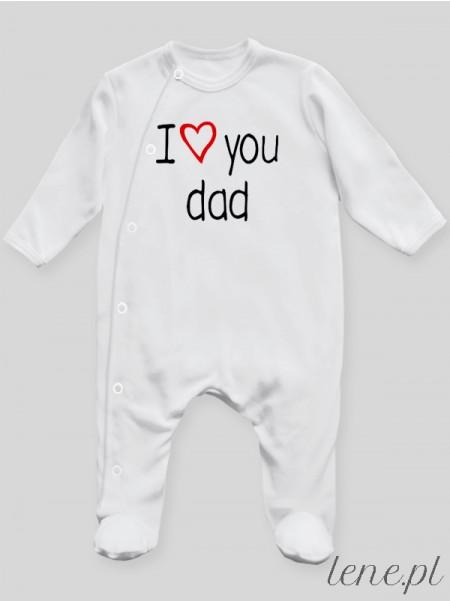 I Love You Dad - pajac niemowlęcy