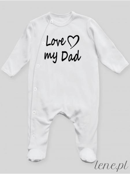 Love My Dad - pajac niemowlęcy