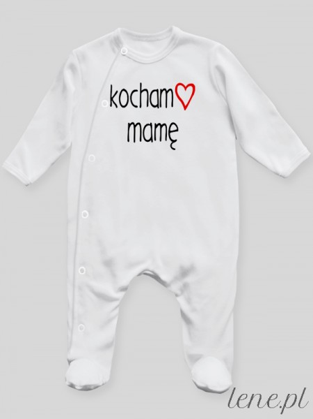 Kocham Mamę 01 - pajac niemowlęcy